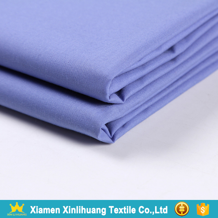 Factory Direct Selling TC Poplin Fabric 65% Polyester 35% Cotton Shirting Fabric