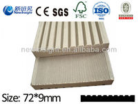 High Quality WPC Plank/Decking/Flooring wood plastic composite plank/decorative board with SGS CE FSC ISO