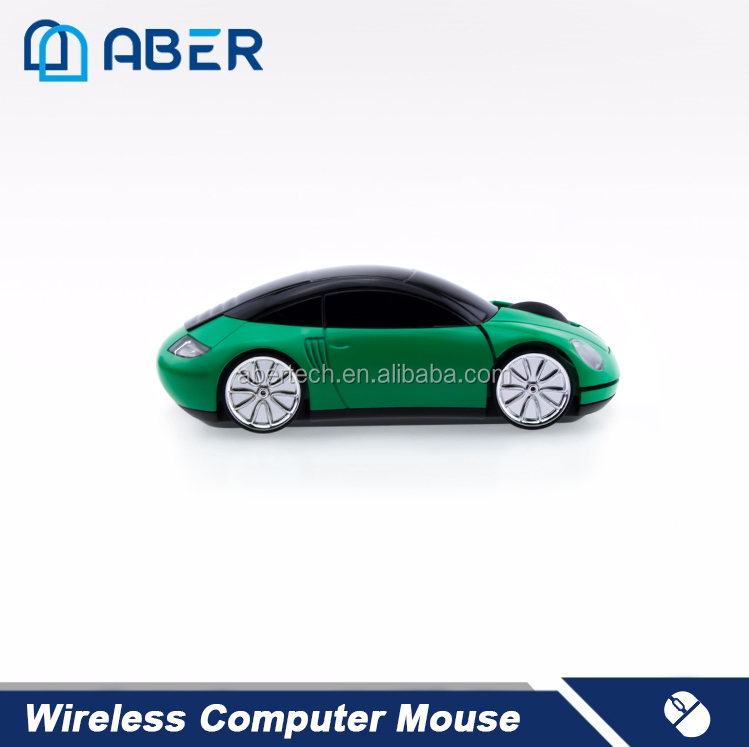 High-end 2.4GHz Wireless Classical Car Shape Computer Mouse