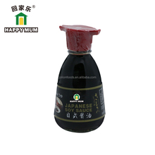 Organic Brand Glass Bottle Dipping Mushroom Soy Sauce dispenser 150ml