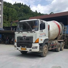 Used 10CBM Hino chassis Sany original transit mixers, concrete mixer truck for sale with custom price