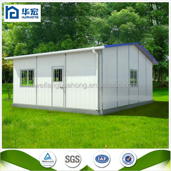 Cost effective cheap modular prefabricated steel sip house for Prefab sip homes