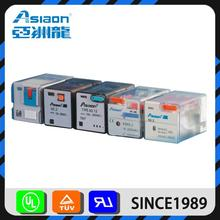 ASIAON Yueqing Manufacturer Small Type 10A timer relay 12v