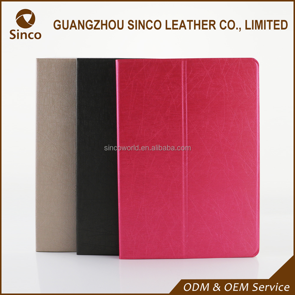 New good quality stand PU leather case for ipad pro 9.7