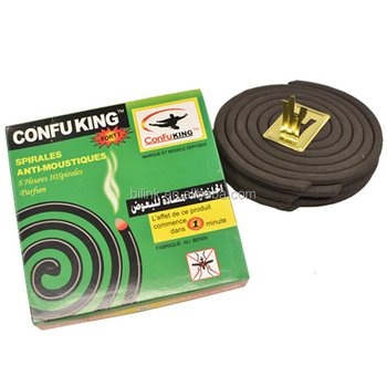 China famous brand black smokeless chemical formula Nigeria mosquito coil