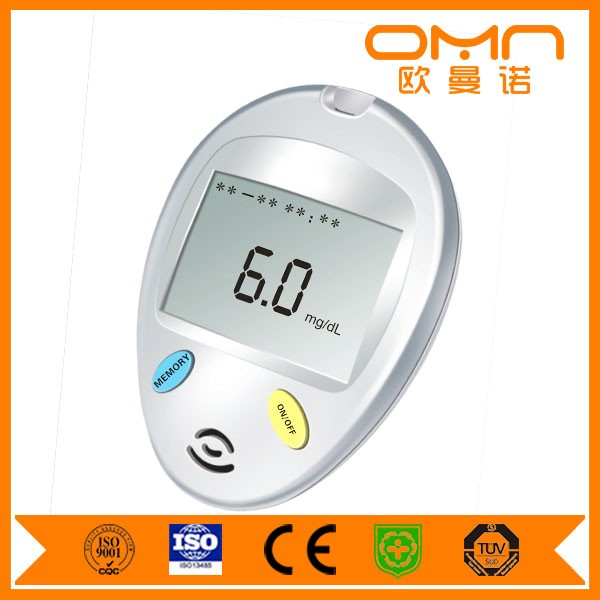 Hot sale new types of sugar testing devices cheap blood glucose meter no strips for home and hospital use