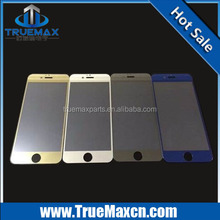 Hot Sales Mirror Tempered Glass Screen Protector for iPhone 6 4.7inch Colors Available