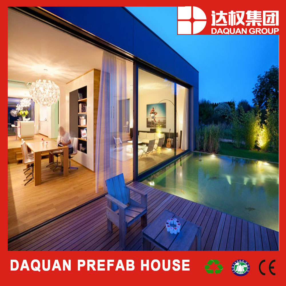 2016 Top 1 famous brand modern module European standard manufactured prefab house with solar energy and intelligent system