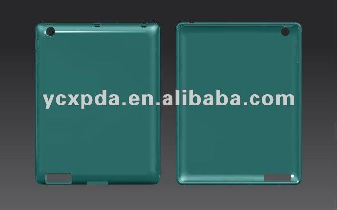 for the new ipad 3 TPU case compatible with smart cover