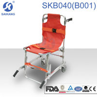 emergency medical stair chair,automatic loading chair-cot stretcher