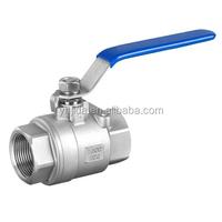 316 3000WOG Stainless steel ball valve