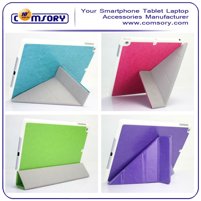 Transformer leather case cover For iPad Air / iPad 5