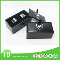 Souvenir metal cufflink custom packaging box