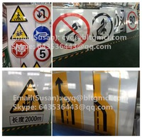 Reflective safety traffic signs