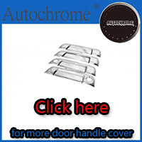 Factory price car auto exterior accessories door handle trim, chrome door handle cover for Hyundai Santa Fe 01-06