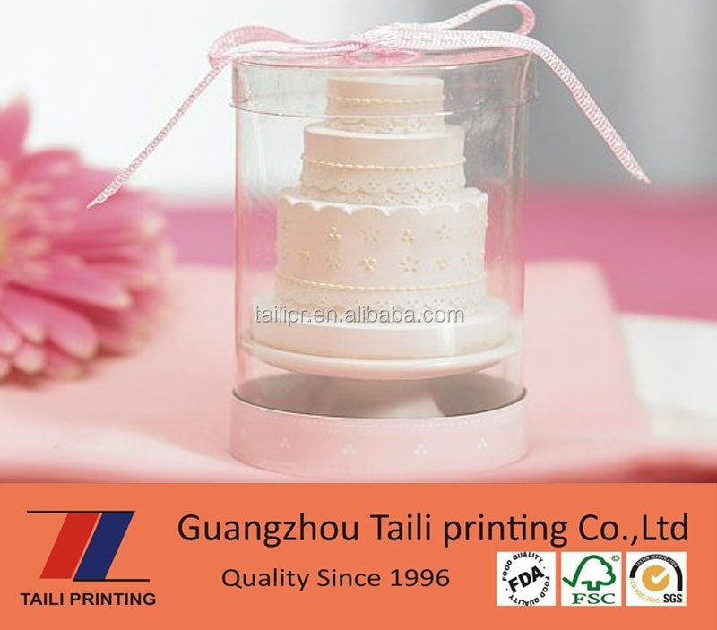 High quality clear plastic cake box