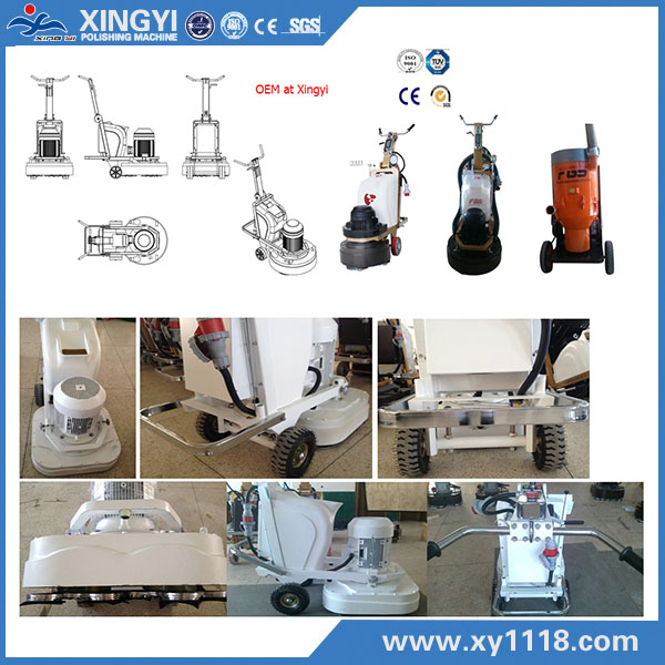 concrete edge grinder floor grinding machine