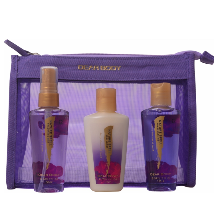 classical perfume and skin care bath promotional gift set