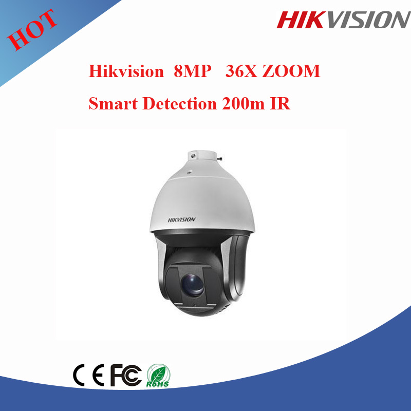 Newest Hikvision camera 4K PTZ Dome Camera ip 8MP ptz camera WITH 200M ir DS-2DF8836IV-AEL