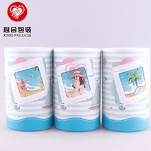 Strong Cardboard Round Packaging Box for Bath Cream