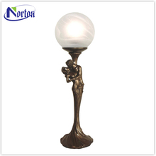 Bronze lady sculpture lamp NT--BS267A
