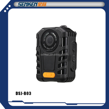 Senken waterproof mini size security guard CCTV wireless body worn Camera support one button start working
