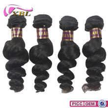 2015 XBL Top 7A Wholesale Price Remy Hair And Romance Curl Hair Weave