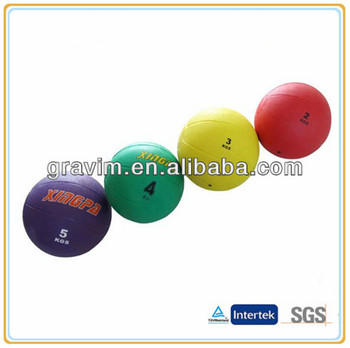 Gravim Best quality cheapest rubber medicine weight ball