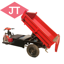 2018 Garden Tuck Dumper Mini Transporter Electric Coal Loading And Transporting Tricycle