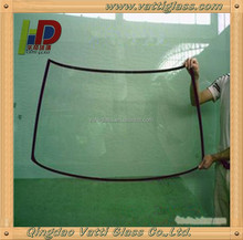 High quality laminated windshield car front glass price