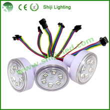 Digital 45mm rgb led point pixel with 4pin connector