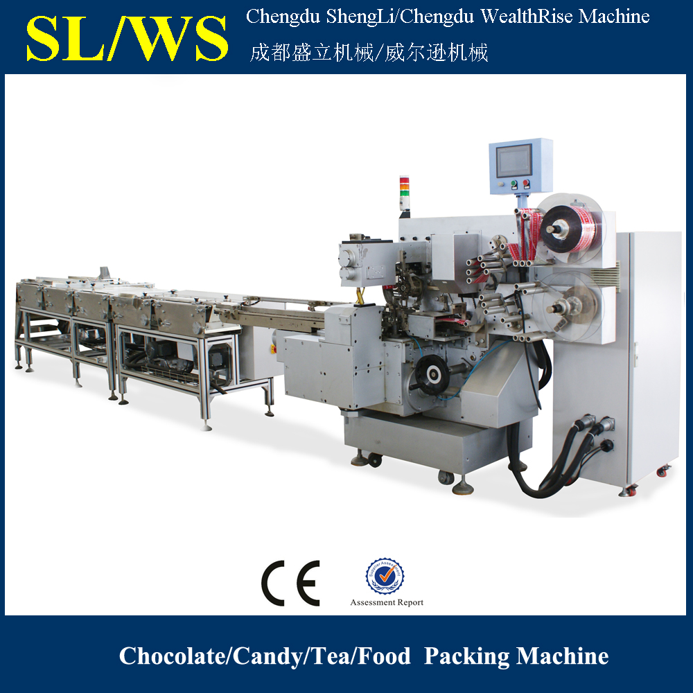 Double Twist Candy Automatic Packaging Machine
