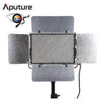 Aputure Adjustable 1536 LED Lighting Panel Dimmable Light Storm with Bi-Color Temperature (3200K-5500K) Photography Film Video