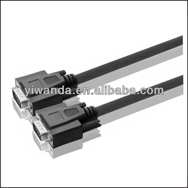 retractable vga cable manufacturers, rohs vga cable suppliers, flat vga cable exporters