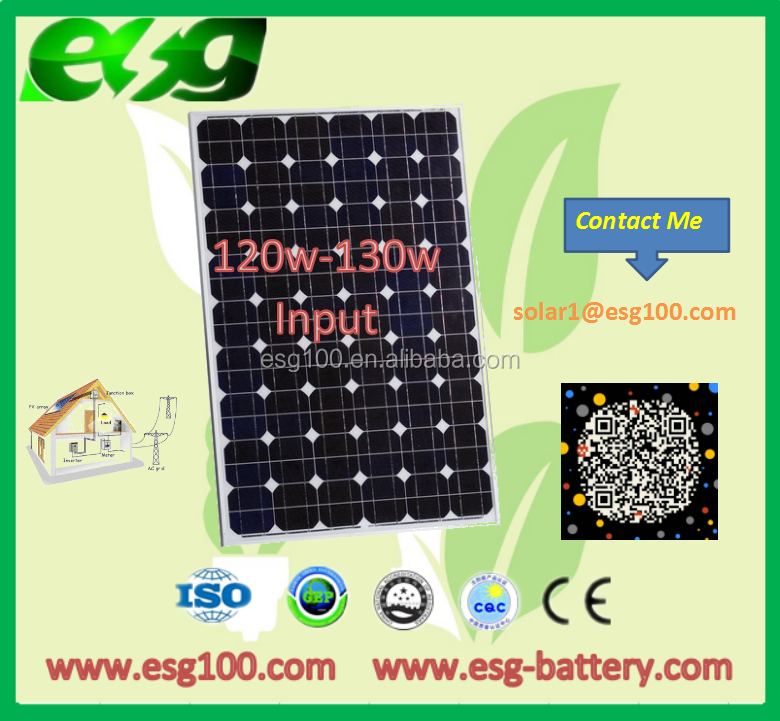 120W Monocrystalline solar panel cells folding solar charger foldable solar panel with the nest quality