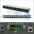 8 ports 115V 15 amp IP PDU- Switched/Monitored
