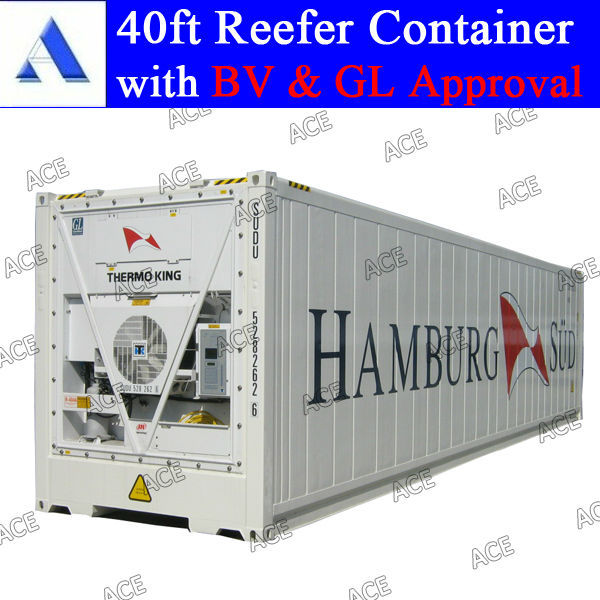 New thermo king reefer container