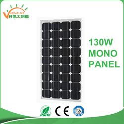 newest product for mono solar modules solar panel 130w