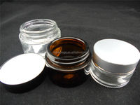 5g 10g amber eye gel glass jar 5ml small vial for cooling ointment