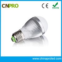 Free sample energy saving aluminum body led lighting bulb with CE RoHS approved