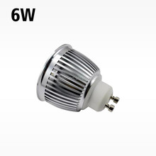 high lumen hot sale 3 year warranty samsung ac cob gu10 6w led spotlights