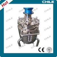 Calcium mixture/ dissolver reactor machine/adhesive making machine