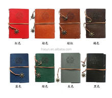 Loose leaf handmade leather journal diary notebook