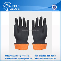 Safety Hand Working Long Rubber Gloves for Hot Sale
