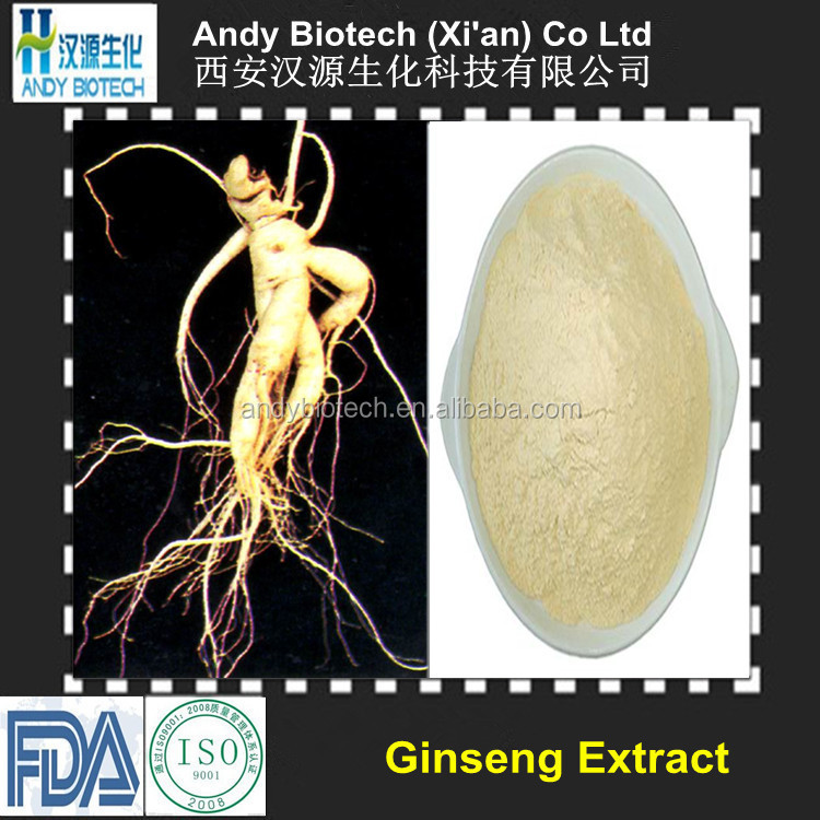 100% Soluble In Water Panax Ginseng Extract
