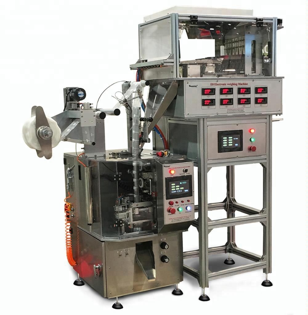 Triangular tea bag packing machine