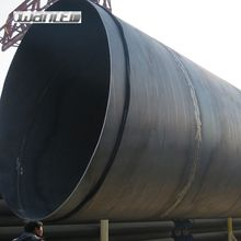 SSAW/SAWL API 5L spiral welded carbon steel pipe natural gas and oil pipeline