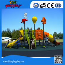 Residential large plastic outdoor playground equipment for sale