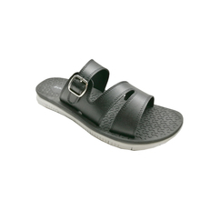 new fashion stylish black flat sandals for men