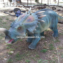 Outdoor High Simulation Life-size 3D Silicone Dinosaur Model